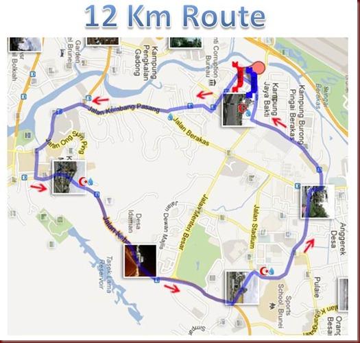 ozone 12km route  wtrnRedcrsnt