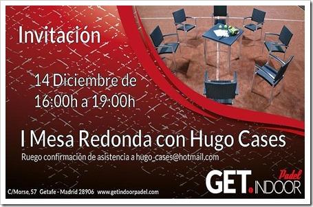 Concluida con éxito la I Mesa Redonda Pádel con Hugo Cases para técnicos en el club GET Indoor, Getafe.