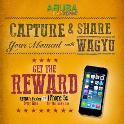 Kontes Foto Wagyu Berhadiah iPhone 5S