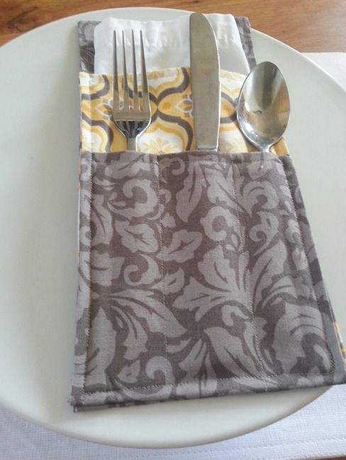 DIY Silverware Holder 13