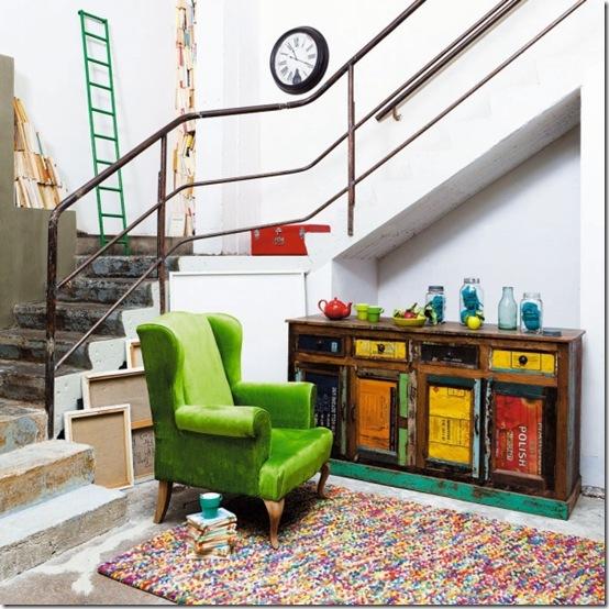Sponsor stile loft a maisons du monde cafe creativo - Recupero mobili vecchi ...
