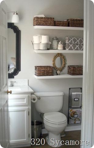 Stunning february master bathroom after