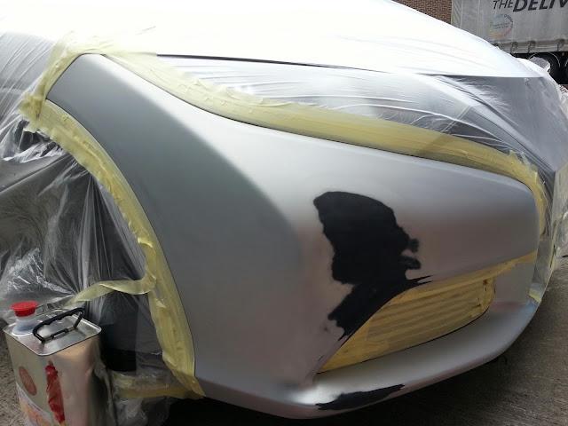 new civic bumper repair in Armley leeds