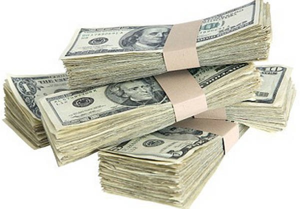 2- 1 milhão de dólares