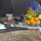 Frühstück in Tena Tena. © Foto: Marco Penzel | Outback Africa Erlebnisreisen