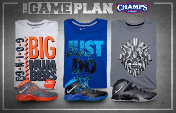 The Game Plan by Champs 8211 Nike Zoom Soldier VII Collection