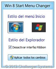 Win8 start menu changer 1.1