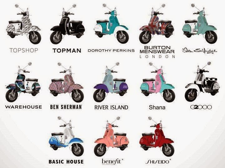 Win a Limited Edition Vespa Scooter