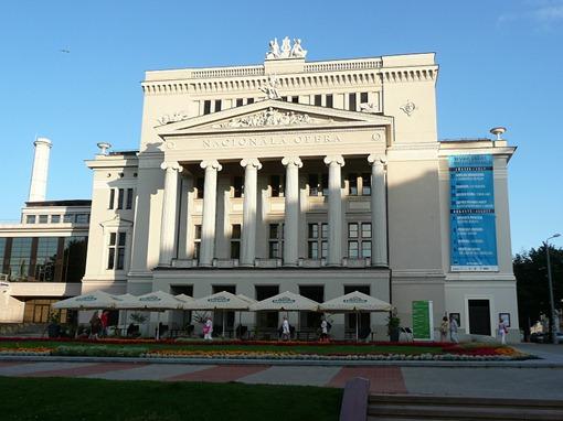 Рига, здание Национальной оперы