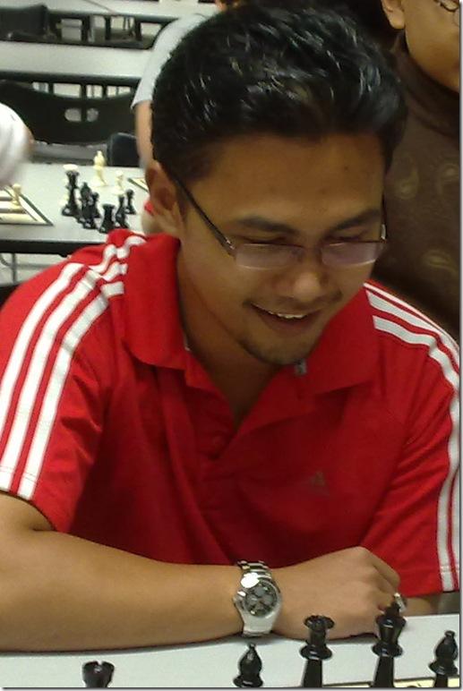 IM Mas Hafizulhelmi, Malaysia in Masters 2011.