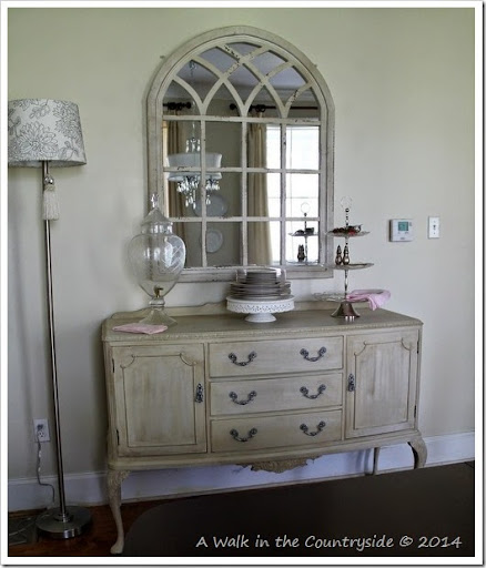 Arched Mirror Over Sideboard Part 94