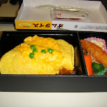lunchbox on the shinkansen in Hiroshima, Hirosima (Hiroshima), Japan