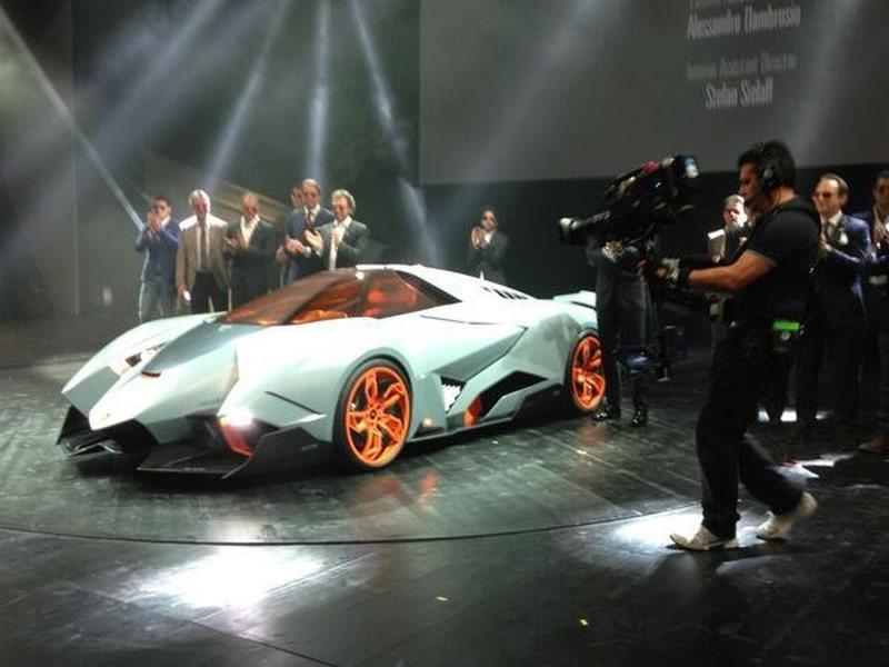 lamborghini egoista 1 - Lamborghini Egoista Police