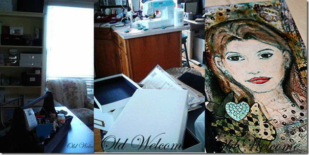 art studio metamorphosis old welcome