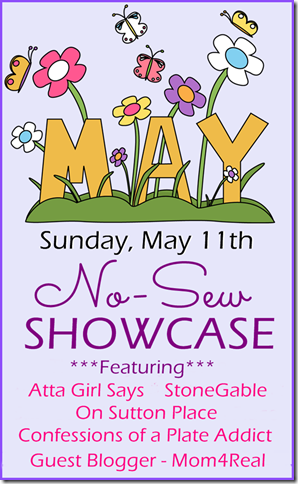 May No-Sew Showcase button large