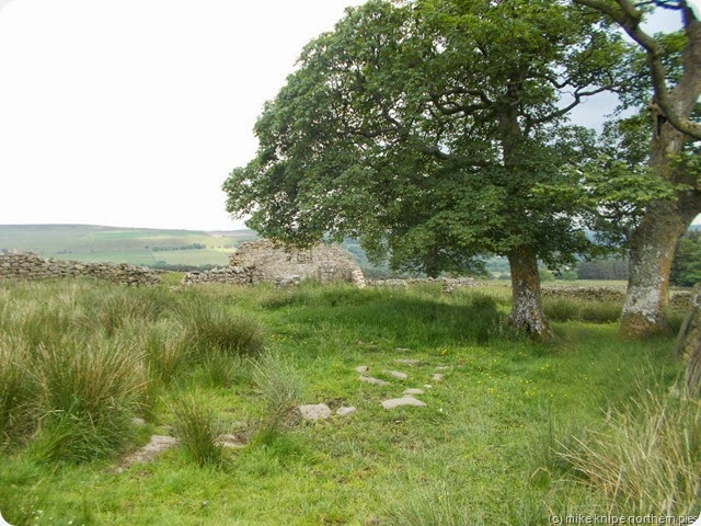 ruins of park wall farm