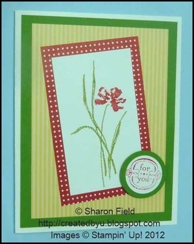 pretty designer series papers and wider margin cas card