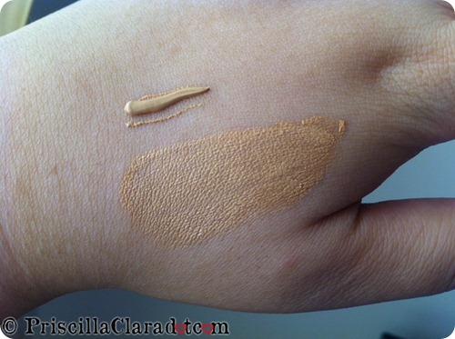 Priscilla review Revlon Photoready BB Cream swatch