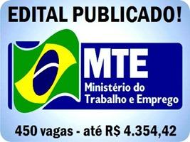 MTE 3 - 450 vagas