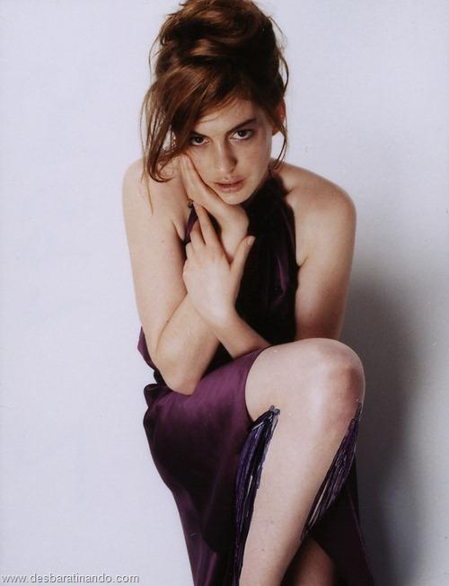 anne hathaway linda sensual sexy desbaratinando  (78)