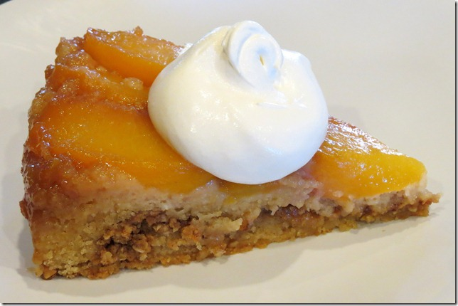 TWD--Peach Upside Down Cake 9-2-12