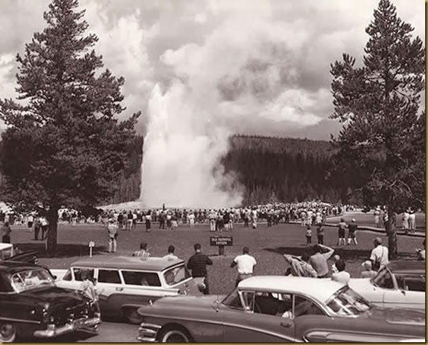 old faithful in the 50s