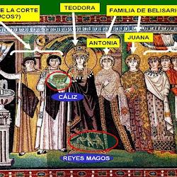 40 bis - Mosaico de Teodora en San Vital de Rávena 2