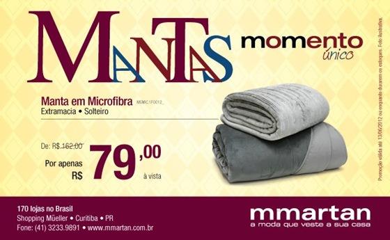 mmartan mantas promocao 2012