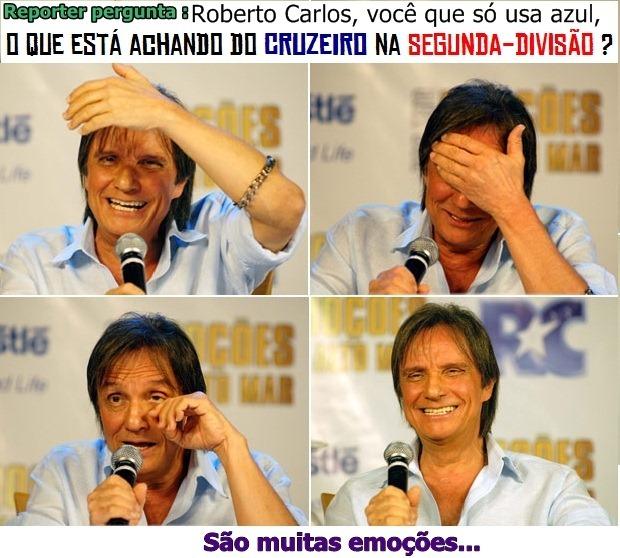 Cruzeiro rebaixado segunda divisão segundona 2012 - roberto carlos