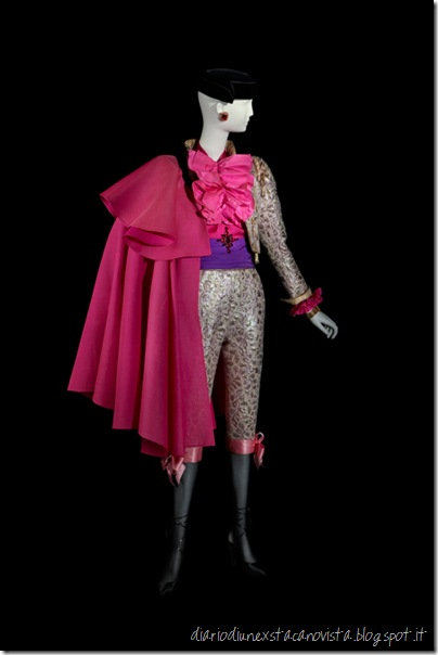 Yves Saint Laurent, Torero ensemble, haute couture collection, Fall-Winter 1979