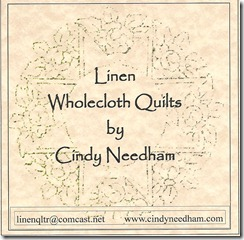 Linen Wholecloth quilts