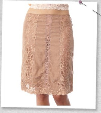 #533 Dareme skirt powder