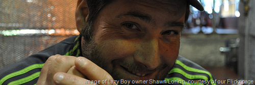 image of Lazy Boy owner Shawn Loring, courtesy of our Flickr page