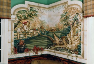 lukisan dinding 2
