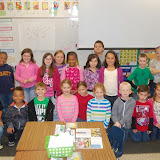 WBFJ Cici's Pizza Pledge - Walkertown Elementary - Ms. Bray's 2nd Grade Class - Walkertown - 10-23-1