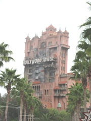 Disney trip Tower of Terror 2