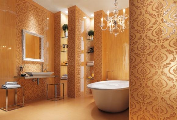 Cream-wallpaper-look-bathroom-tiles