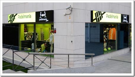 La firma Padelmanía abre su 13ª tienda en San Sebastián de los Reyes, Comunidad Madrid.
