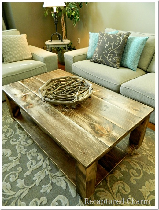 rustic coffee table5