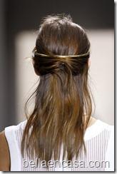 accesorios en el cabello