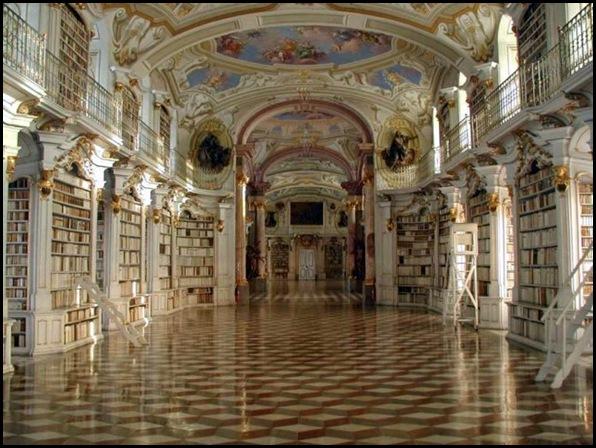 Bibliothèque de l'abbaye bénédictine d'Admont, Autriche -15