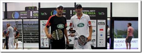 Díaz y Belasteguín sufren remontando pero se proclaman campeones en el Bwin PPT I Internacional IBFIT Ciudad de Ibiza 2012.