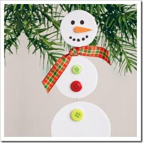 snowman dangling