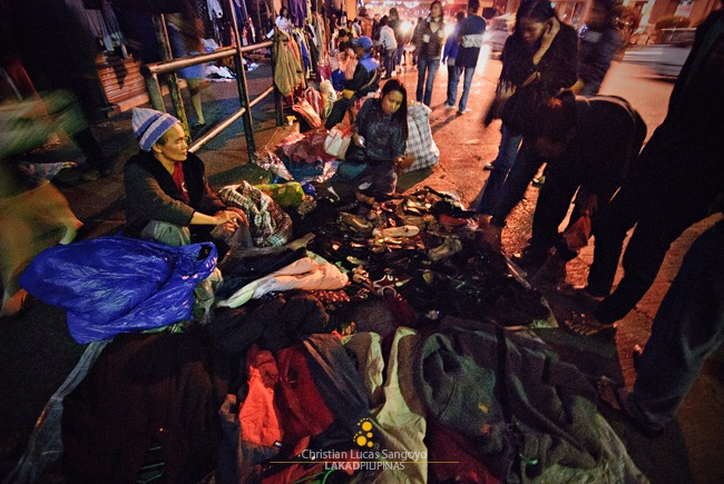 Night Market along Maharlika in Baguio City