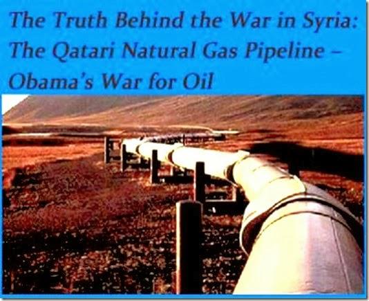 Pipeline - Motive Intl Interest in Syrian War