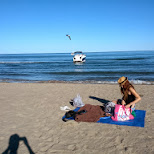 beach time with Kanako in Scarborough, Ontario, Canada