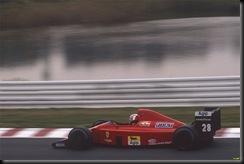 Gehrard Berger 1989 Ferrari