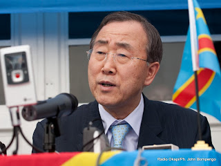 – Ban ki Moon, secrétaire général des Nations Unies, 2mars 2009 à Kinshasa