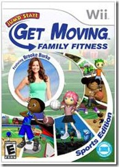 Jump Start Get Moving Family Fitness Wii Game