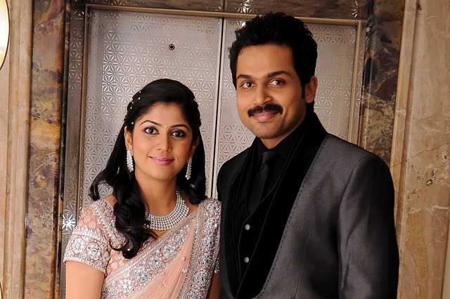 Wedding Reception Cute Pics of karthi 2011